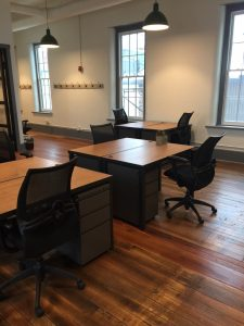 Dedicated desks for $325/mo